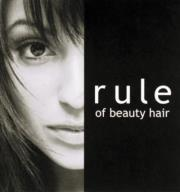rule of beauty hair アムズ御所南サロン  | ルール アムズ ゴショミナミサロン  のロゴ
