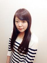 さらツヤ☆ストレートロング♪|hair design te-etのヘアスタイル