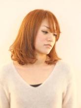 柔らかカール☆ヌーディボブ♪|hair design te-etのヘアスタイル