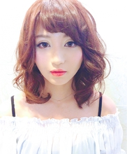透明感☆ふわくしゅパーマ☆ AnFye for prcoのヘアスタイル