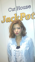 ☆ノスタルジックボブ ver.トロピカルカラー☆|Cut House Jackpotのヘアスタイル