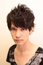 メンズ 外ハネナチュラルパーマ|hair make avantのメンズヘアスタイル