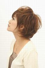 美シルエットの柔らかショート|SUCREのヘアスタイル