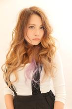 トレンド色を使ったグラデーションカラーで雰囲気を変えちゃおう|Beauty Labo 岡本店のヘアスタイル