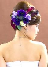 ブライダルヘアセット|Blooming Bridalのヘアスタイル