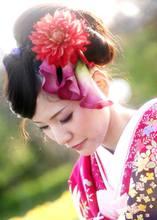 和装ヘアセット|Blooming Bridalのヘアスタイル