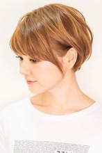 ☆すっきり耳かけナチュラルショート|hair coucouのヘアスタイル