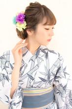 【浴衣レンタル】\2000〜☆花火大会夏祭り 手ぶらでOK☆ |hair coucouのヘアスタイル