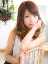 【Grous hair】ほどけるような甘口カール…Chiffonミディ☆|Grous hairのヘアスタイル