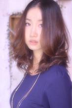 大人かわいい女子・おしゃれセミロング|Laissez 新松戸駅前店のヘアスタイル