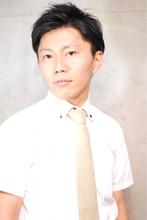 ナチュラル7/3ツーブロック Laissez 新松戸駅前店のメンズヘアスタイル