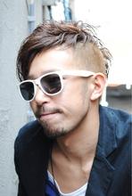 .1番隊長・不死鳥マルコ風・アシメモヒカン|Laissez 新松戸駅前店のメンズヘアスタイル
