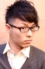 ☆2ブロアシメ☆|Laissez 新松戸駅前店のメンズヘアスタイル