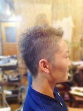 ソフトモヒカン|Laissez 新松戸duex店のメンズヘアスタイル