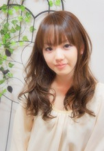 耳かけスウィートロング☆ Hair House Luana  by NYNYのヘアスタイル