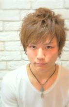 さわやかショートパーマ☆ Hair House Luana  by NYNYのメンズヘアスタイル