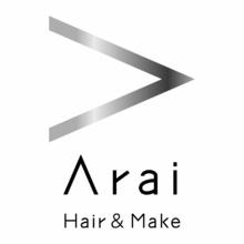 Arai Hair&Make  | アライ ヘアアンドメイク  のロゴ