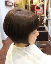 オシャレ度UPのボブスタイル♪|学芸大学美容室 a(アップロード)のヘアスタイル