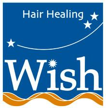 Hair Healing Wish    ヘアヒーリング ウィッシュ  のロゴ