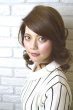 大人の甘辛セクシーグラマラス|Hair Lounge Ayung(ヘアラウンジ アユン)のヘアスタイル