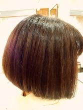前下がりグラデーションボブ|Climb hairのヘアスタイル