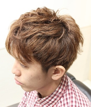 初心者おすすめ2ブロックショート|HAIR&GROOMING YOSHIZAWA Inc. PREMIUMのメンズヘアスタイル