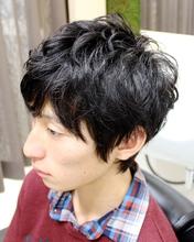 ニュアンスパーマショート|HAIR&GROOMING YOSHIZAWA Inc. PREMIUMのメンズヘアスタイル