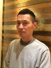 ソフトモヒカン|COM'S / i テラスモール湘南のメンズヘアスタイル