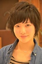 ナチュラル涼しげショート★|COM'S / i テラスモール湘南のヘアスタイル
