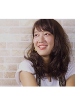 歩く度揺れ動く!デジタルパーマスタイル|COM'S 藤沢のヘアスタイル