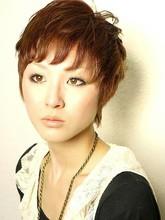 大人可愛いフェミニンなショート☆ naturaのヘアスタイル
