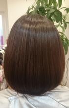 お手入れ簡単シンプルボブ|ASKS HAIRのヘアスタイル