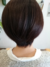 自然な丸みのショート|ASKS HAIRのヘアスタイル
