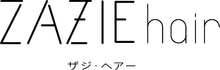 ZAZIE hair  | ザジヘアー  のロゴ