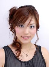 サイドアップが清楚なキュートスタイル|ASHES salon de coiffureのヘアスタイル