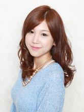 強めリッジカール♪|e-style 豊田大林店のヘアスタイル