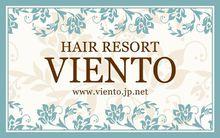 HAIR RESORT VIENTO  | ヘアリゾート ヴィエント  のロゴ