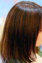 大人系ミディ|SQUASHのヘアスタイル