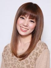 クールなサラ・ツヤストレートで美人度UP!!|e-style 豊川店のヘアスタイル