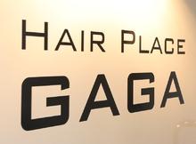 Hair place GAGA  | ヘアープレイス ガガ  のロゴ