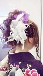 アップスタイル aquair fonteのヘアスタイル