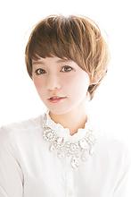 【b-arts】大人可愛い〜ショートマッシュ hair brand b-artsのヘアスタイル