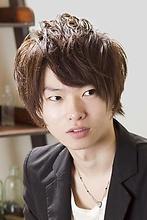 【アメ村b:Ash】メンズショートミディアム☆|hair b:Ashのメンズヘアスタイル