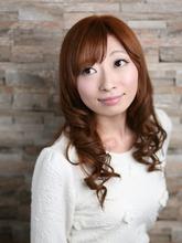 潤い束感カールで大人な雰囲気に!|Rise hairのヘアスタイル