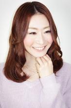 【セミロング】DOR ソフトウエーブ aurum hair&spa 下北沢のヘアスタイル