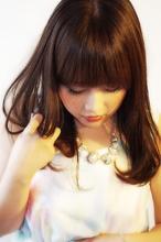【ロング】ツヤ×milk brown aurum hair&spa 下北沢のヘアスタイル