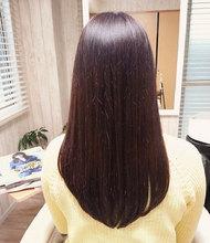 ツヤ感ロング|aura hair maisonのヘアスタイル