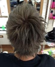 グレイアッシュ系 HAIR REALIZE -SAKUMA-のヘアスタイル