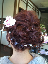 編み込みヘアアレンジ|Rhythm Hair Designのヘアスタイル