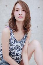 ☆西海岸風リラックス鎖骨ミディ|GALLARIA Elegante 春日井店のヘアスタイル